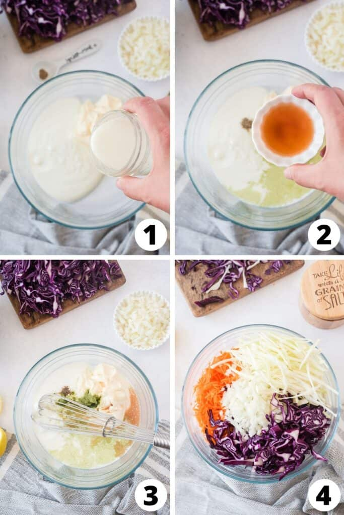 How to Make Coleslaw from Scratch