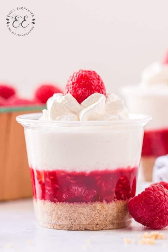 Raspberry Cheesecake Shooters