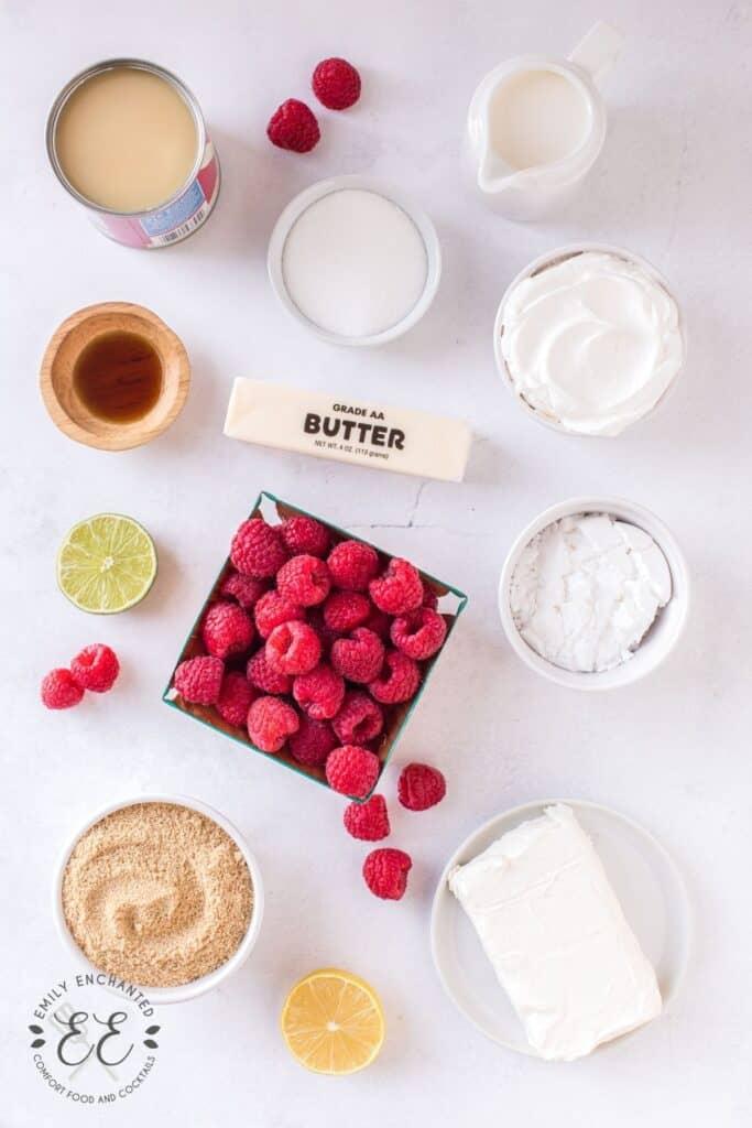 Cheesecake Dessert Shooters Ingredients