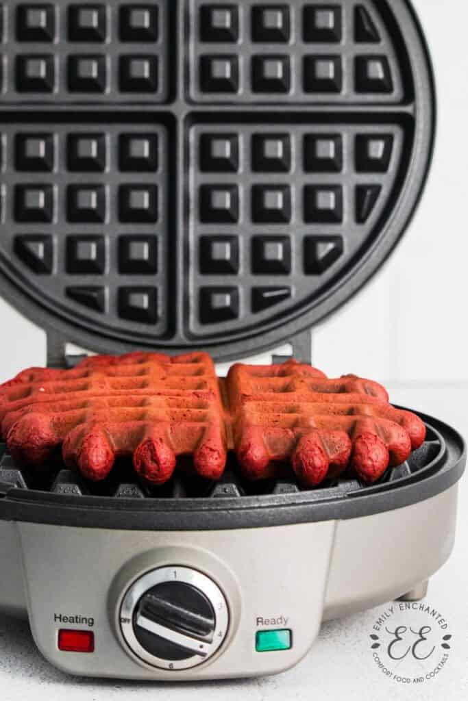 Waffles in a Waffle Iron