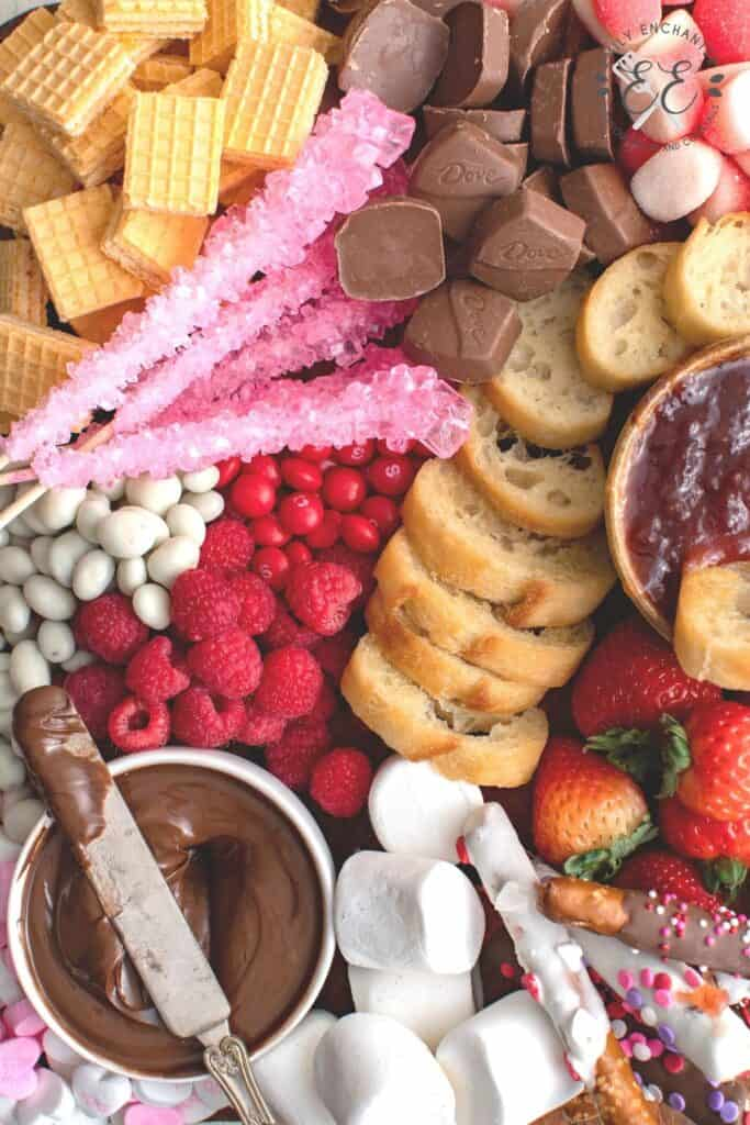 Valentine's Day Sweets Board