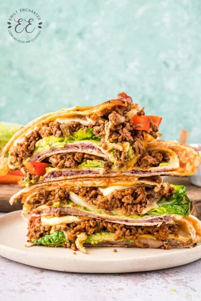 Beef Taco Foldover