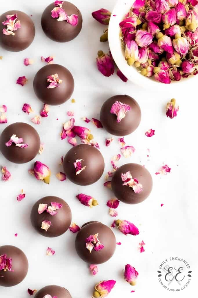 Chocolate Rose Truffle Recipe