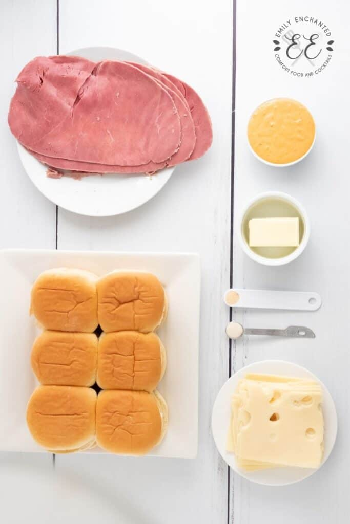 Corned Beef Slider Ingredients