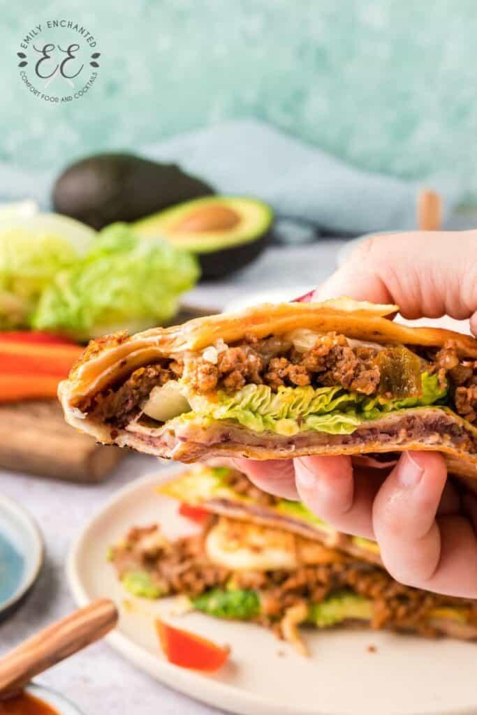TikTok Beef Tortilla Wrap