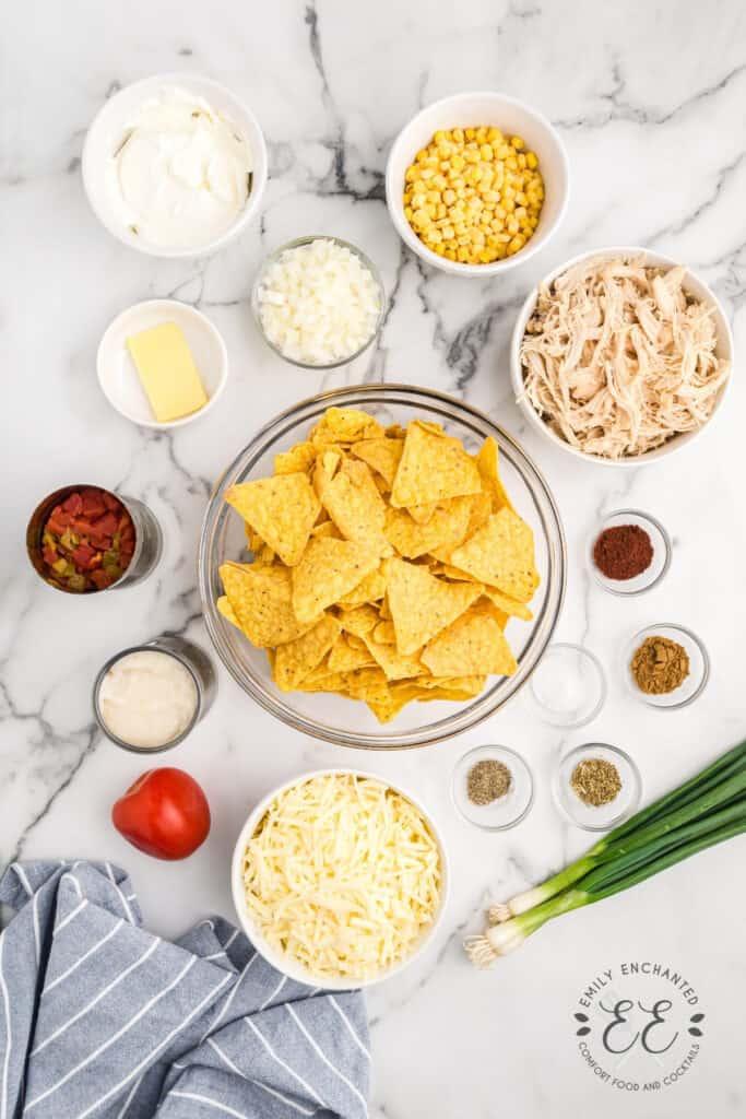 Mexican Chicken Casserole Ingredients