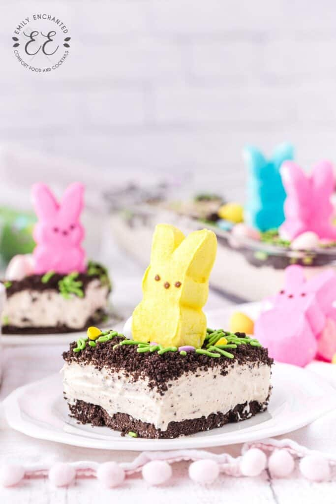No Bake Easter Dessert with Peeps