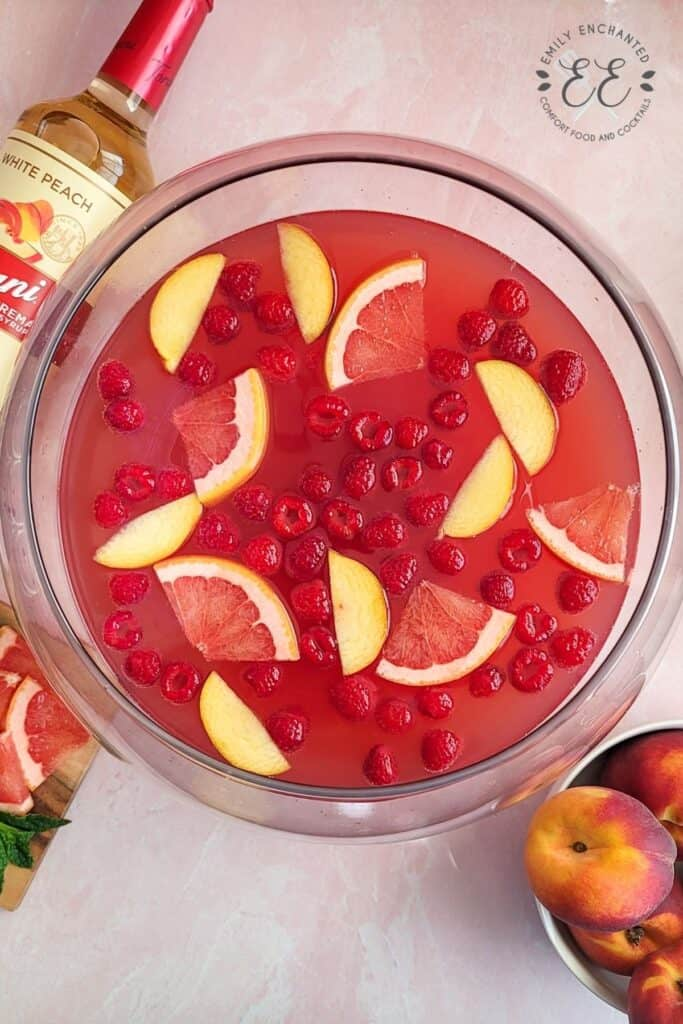 Pink Mimosa Punch