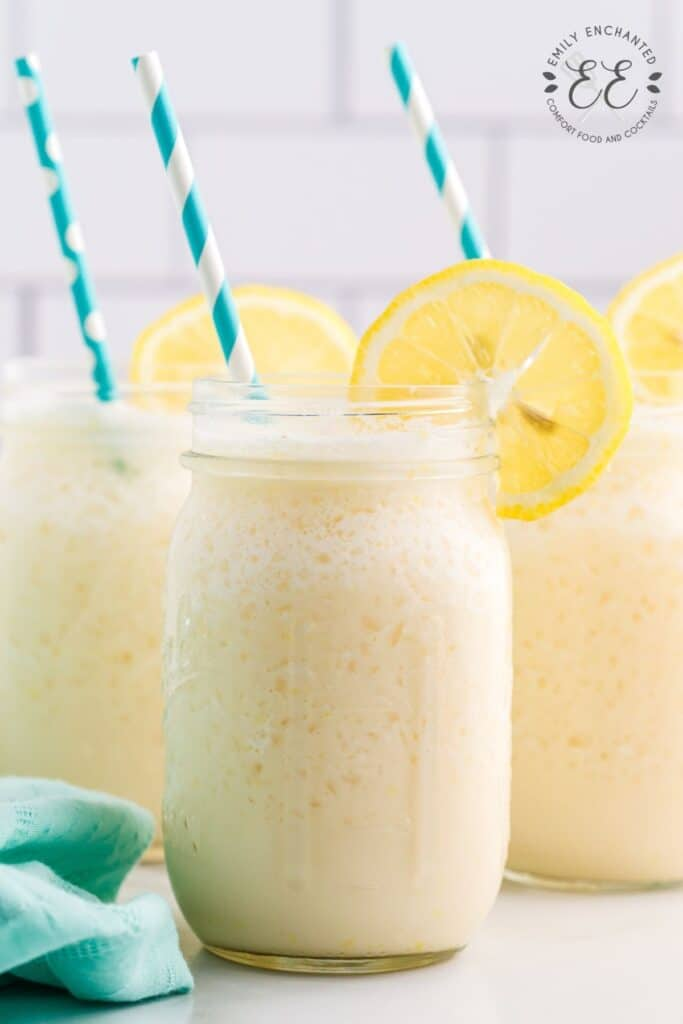 Homemade Frosted Lemonade