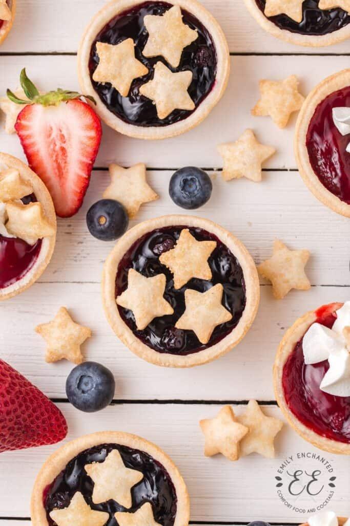 Fourth of July Pie Bites