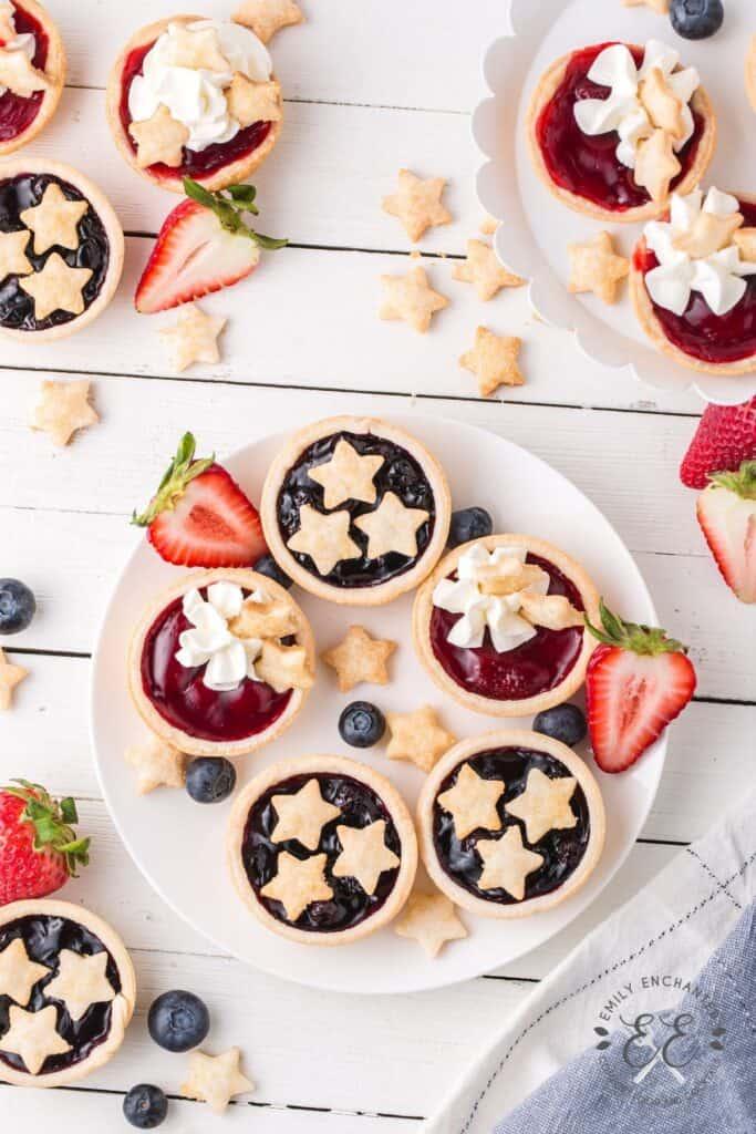 4th of July Mini Pie Bites