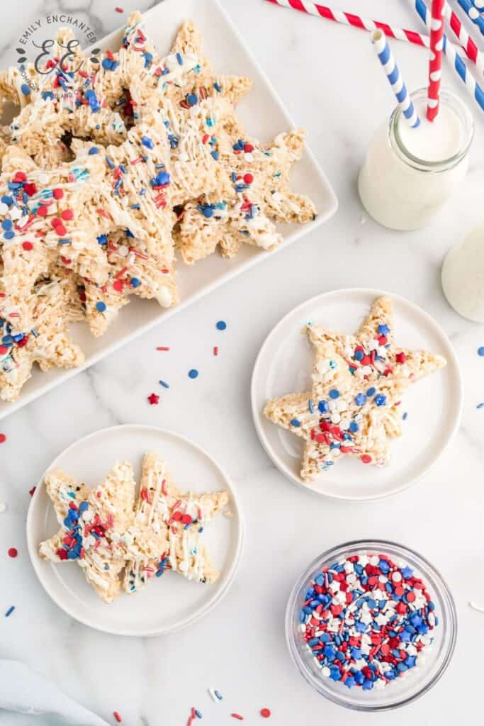 Fourth of July No Bake Dessert