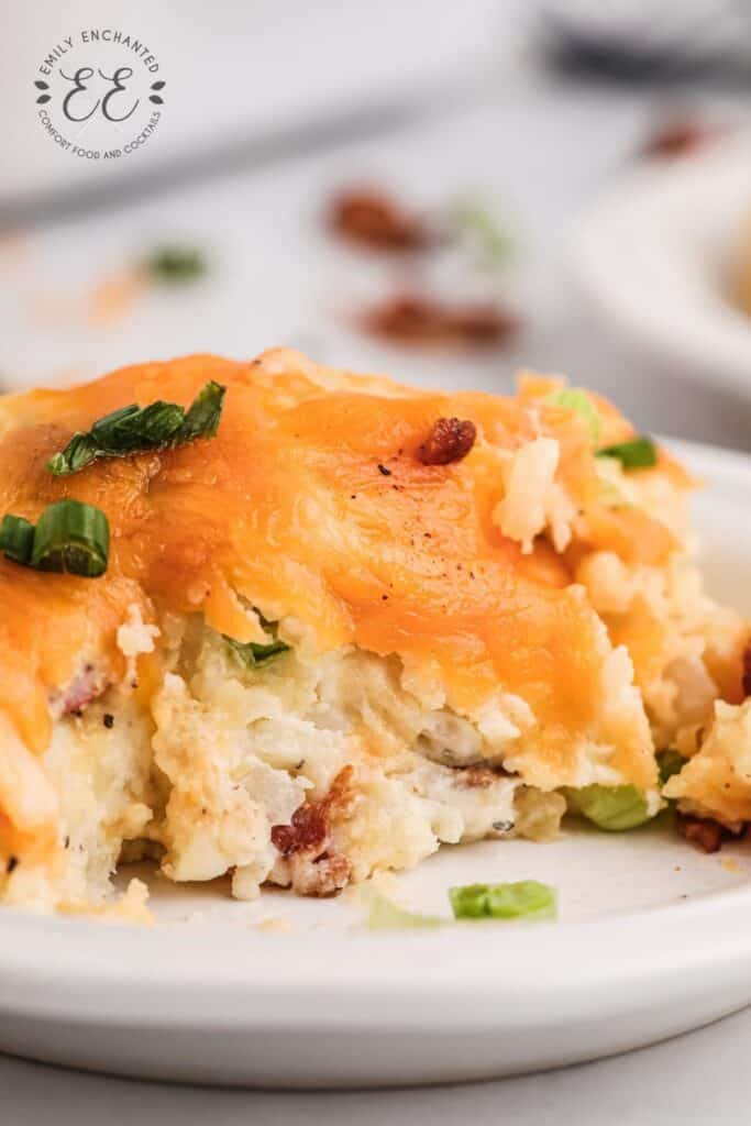Loaded Baked Potato Side Dish