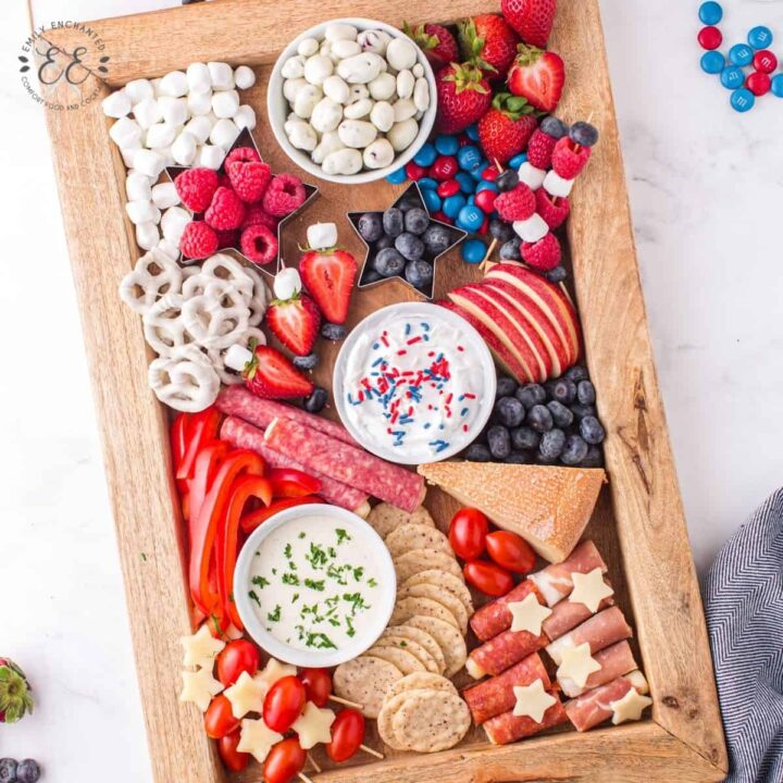 4th of July Charcuterie Board