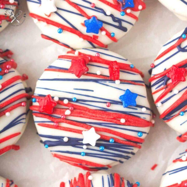 4th of July Oreos