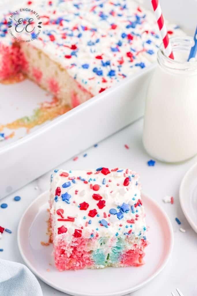 4th of July Poke Cake