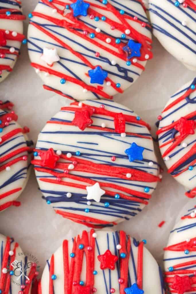 Fourth of July Oreos
