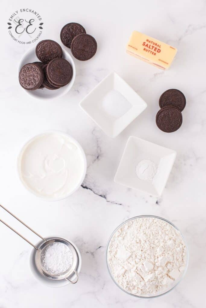 Air Fryer Oreo Ingredients