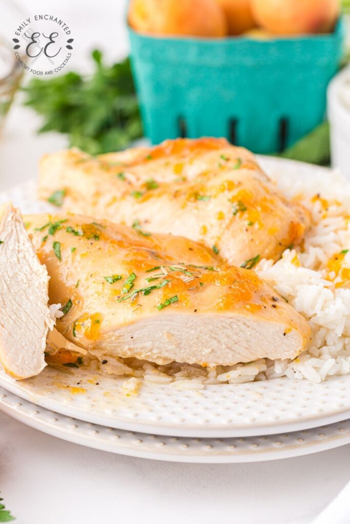 Baked Chicken Breast with Apricot Preserves