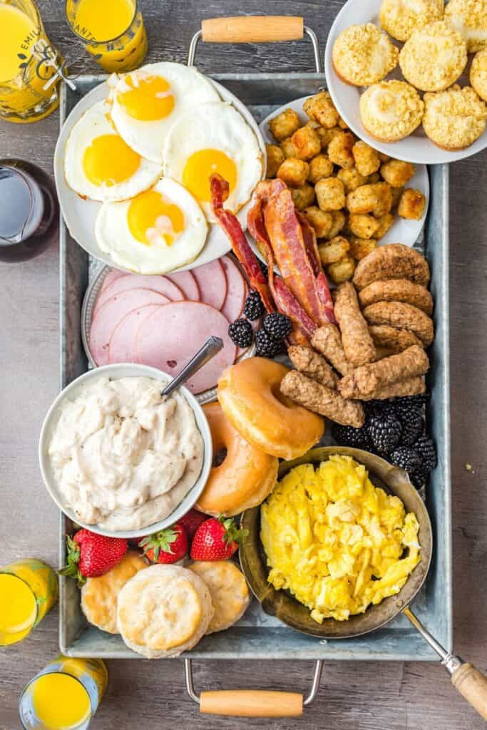Morning Grazing Platter