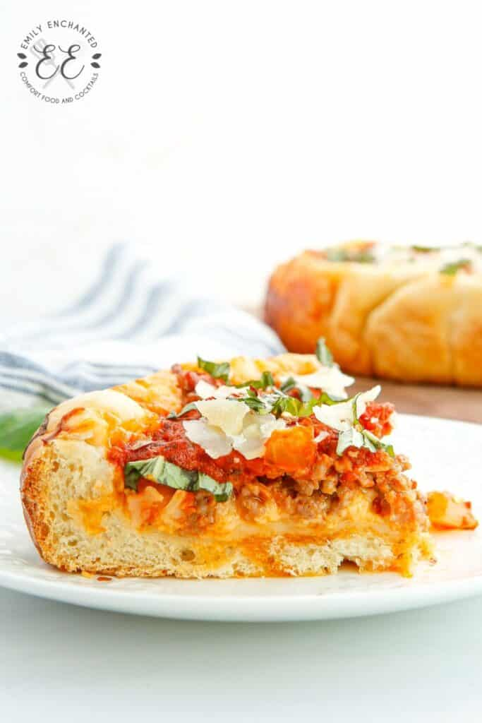Slow Cooker Chicago Deep Dish Pizza Recipe