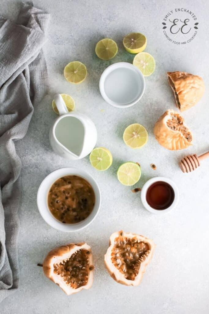Passion Fruit Margarita Ingredients
