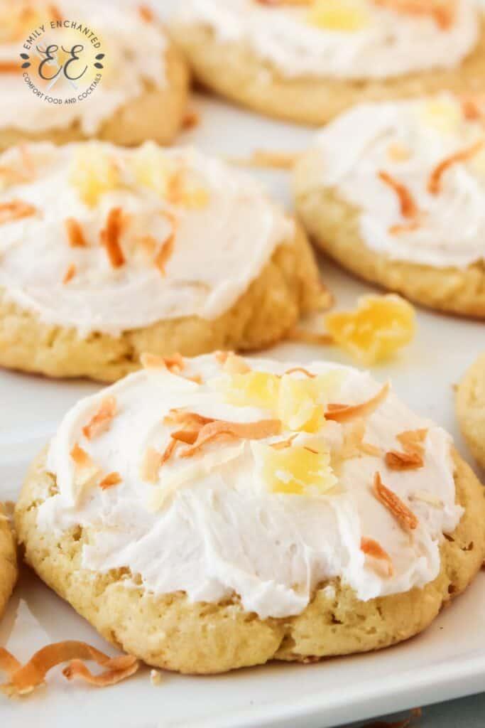 Pina Colada Cookie Recipe