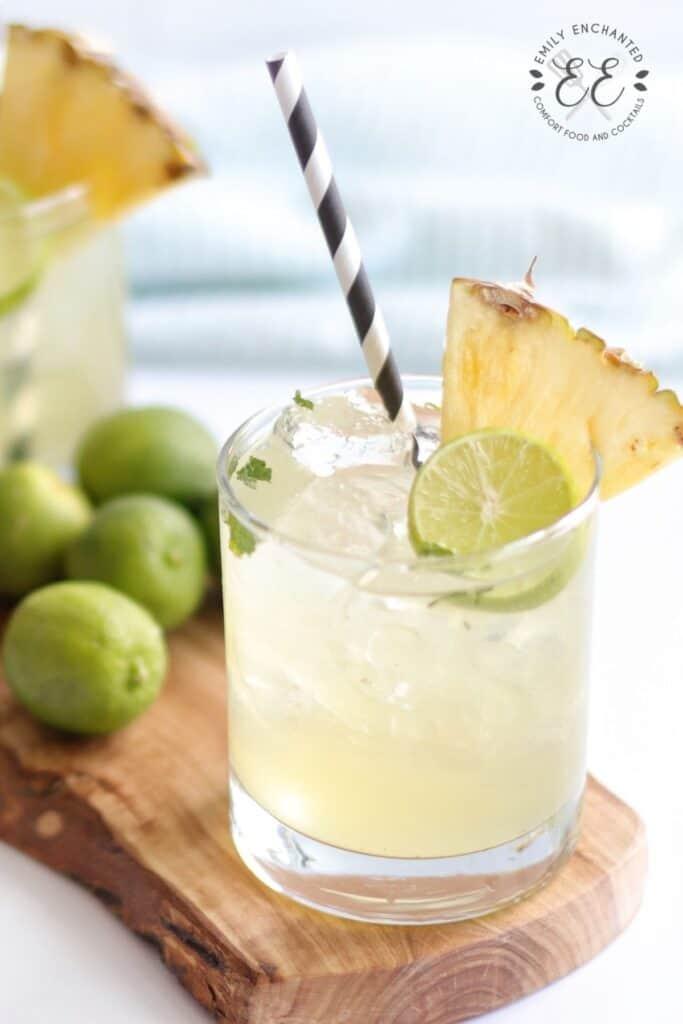 Pineapple Coconut Mojito