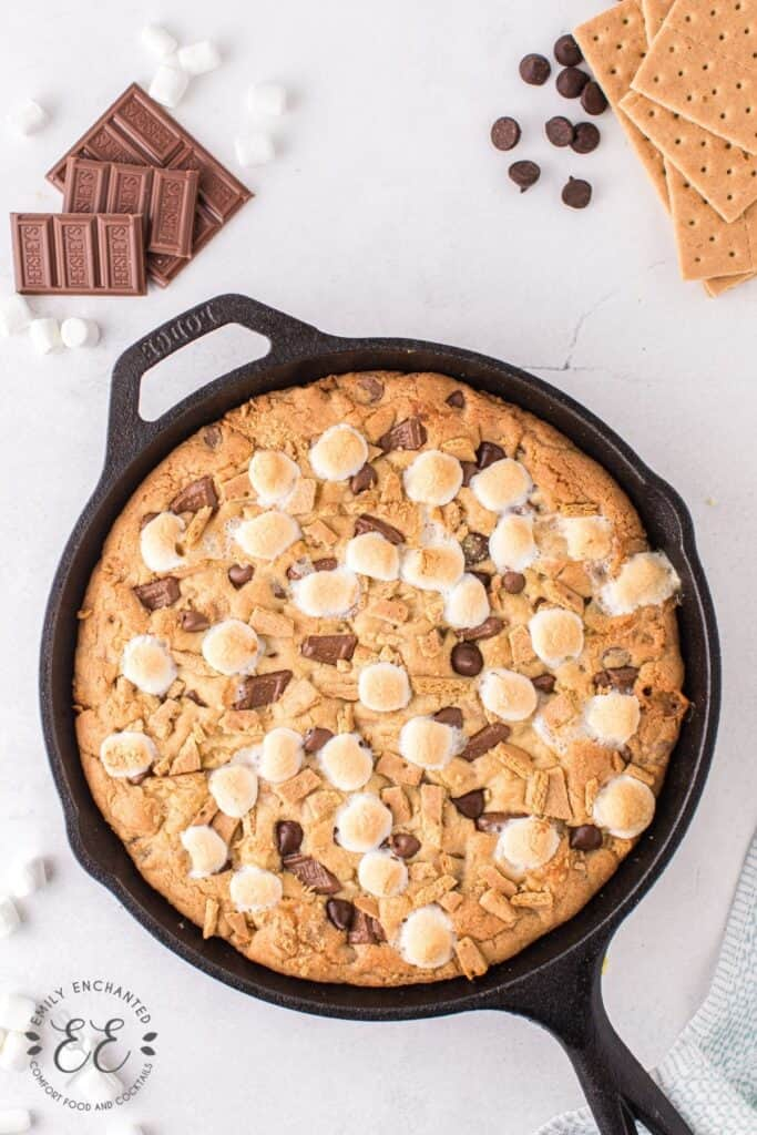 S'mores Skillet Cookie