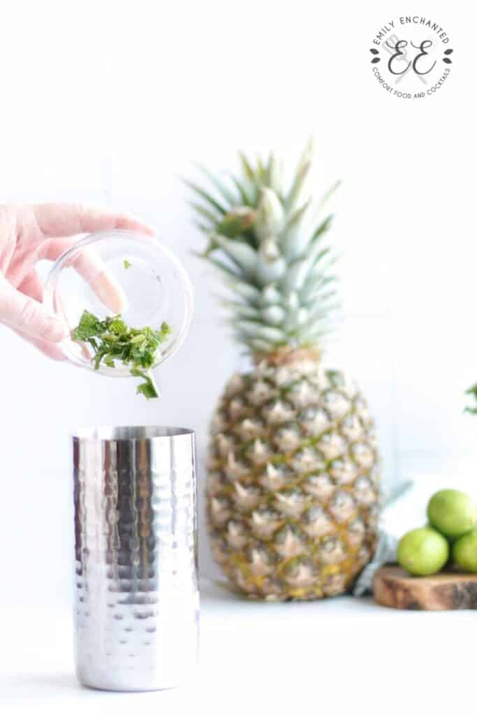 Pineapple Coconut Cocktail