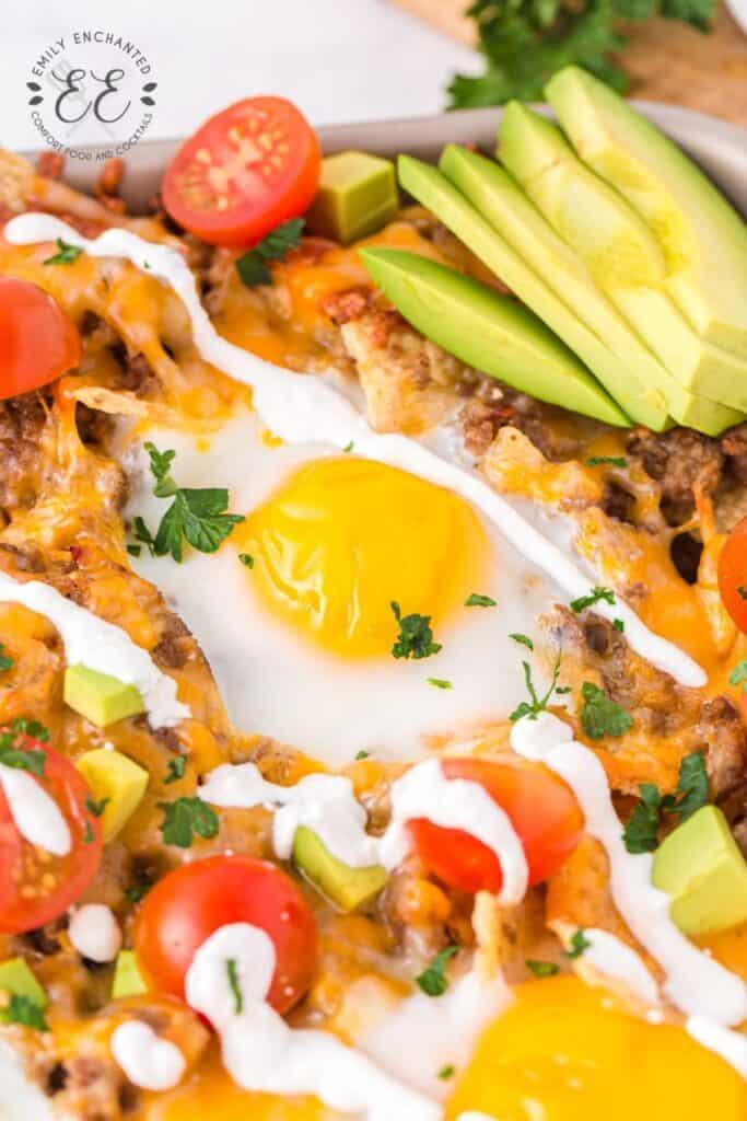 Mexican Breakfast Nachos