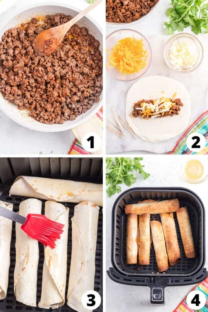 How to Make Taquitos in an Air Fryer