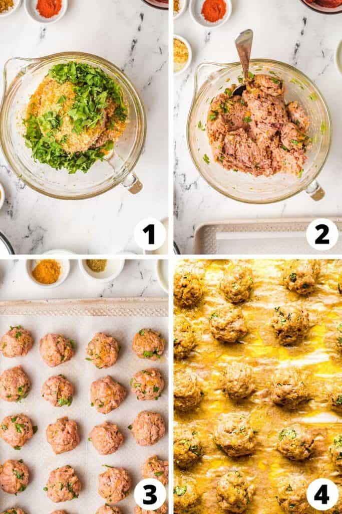 Curry Chicken Meatballs Recipe