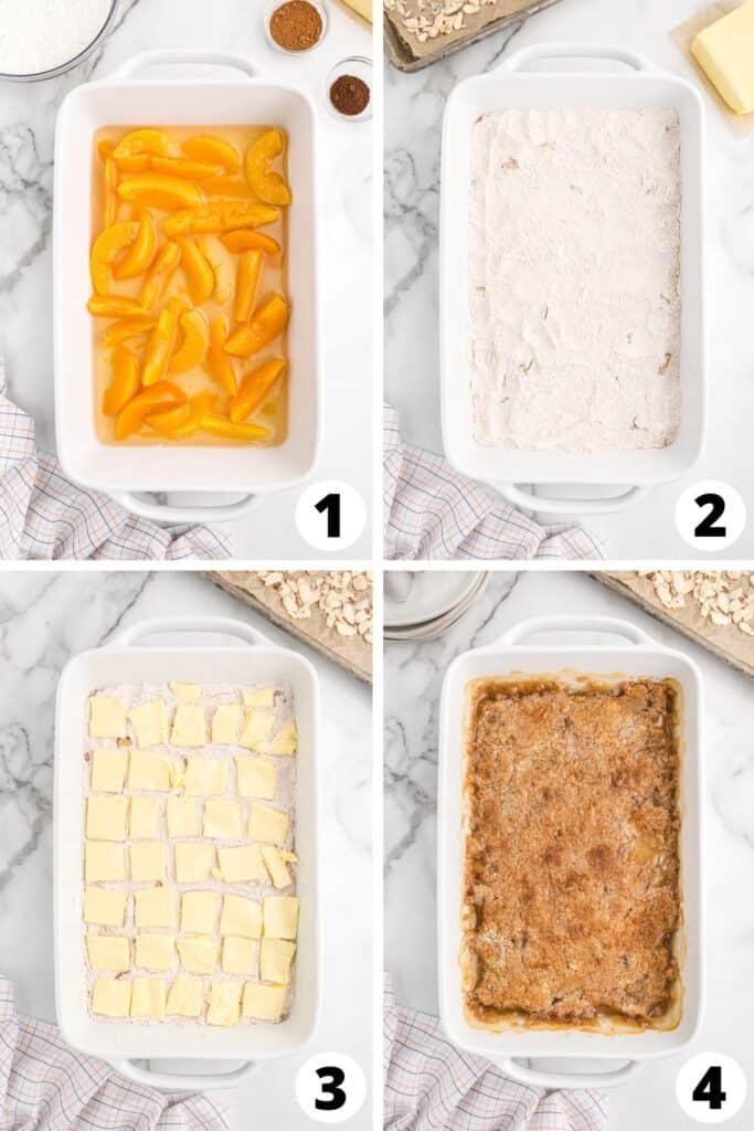 Easy Peach Cobber Cake