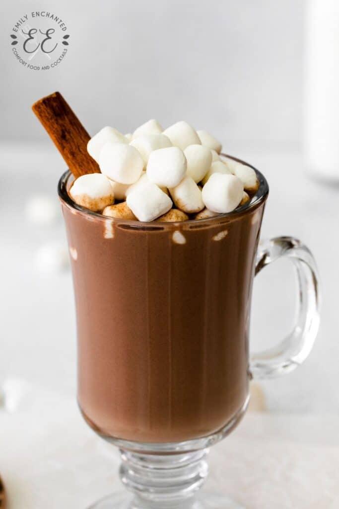 Fall Hot Chocolate Recipe
