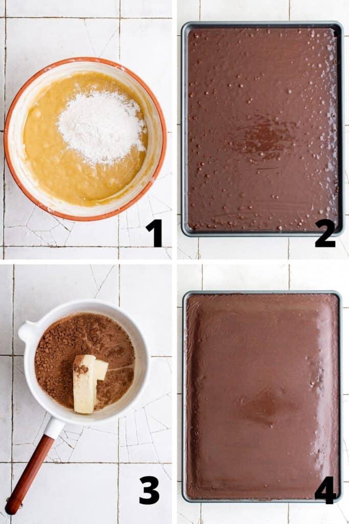 How to Make Cake in Sheet Pan