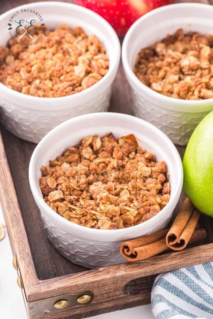 Air Fryer Apple Crisp Recipe