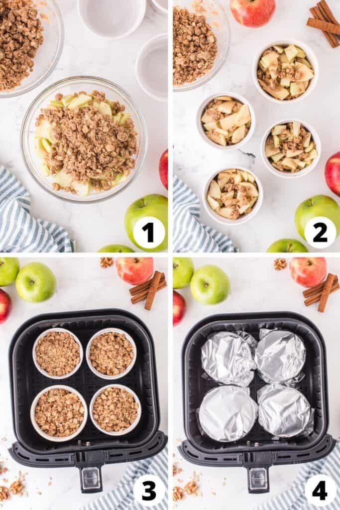 How to Make Apple Crisp in an Air Fryer