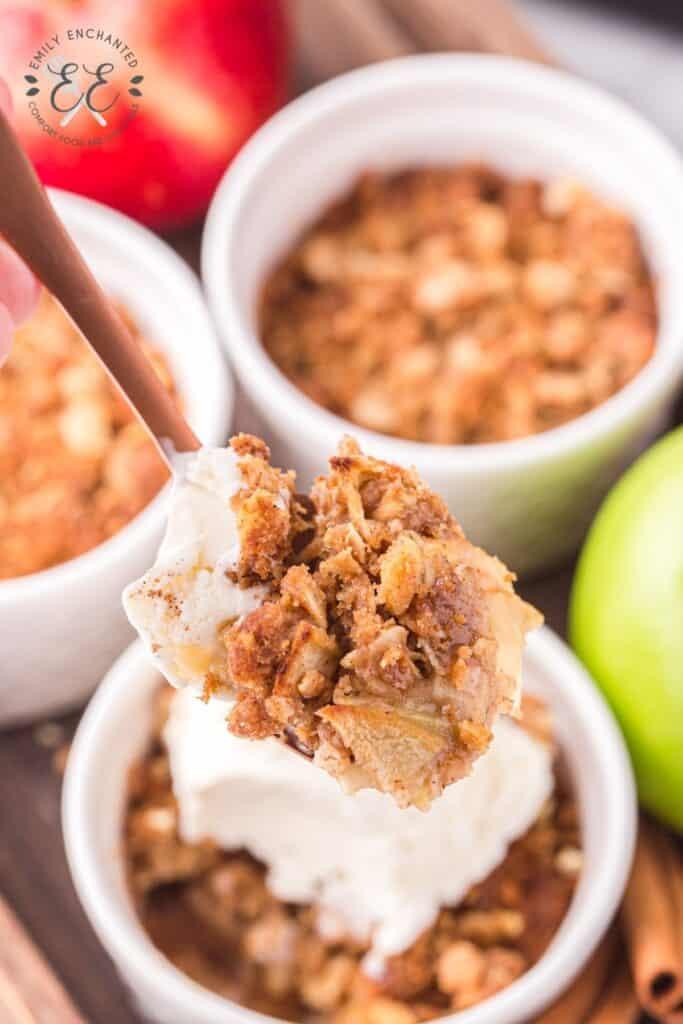Air Fried Apple Crisp Recipe