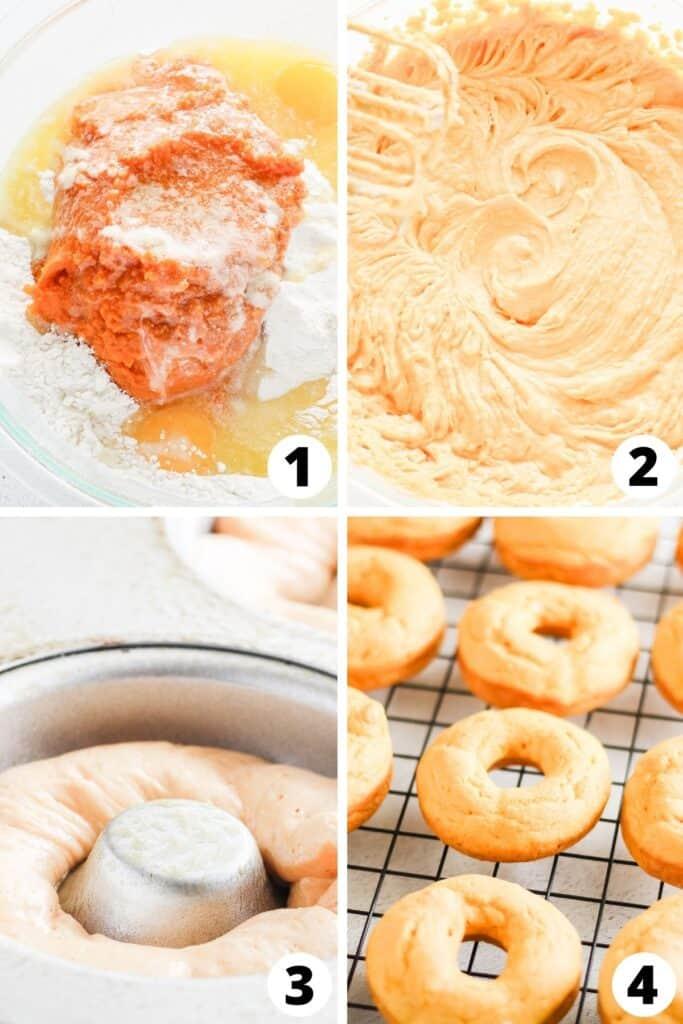 Easy Pumpkin Doughnuts