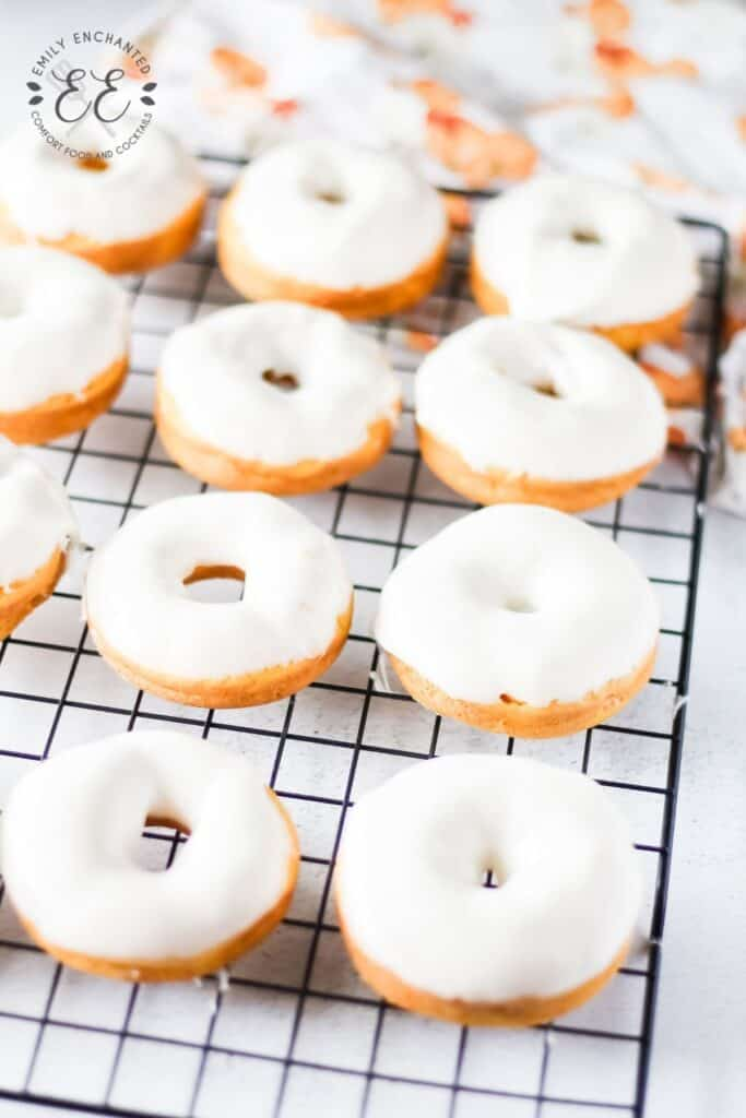 Fall Donuts with Pumpkin