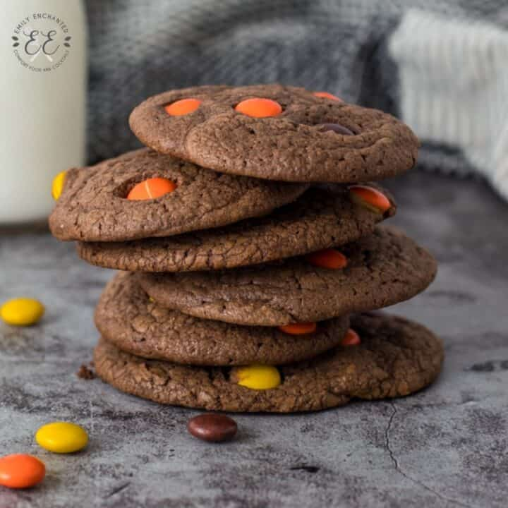 Halloween Cake Mix Cookies