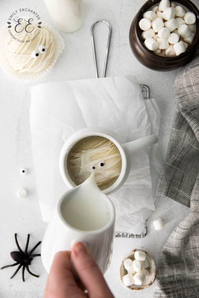 Mummy Hot Cocoa Bombs