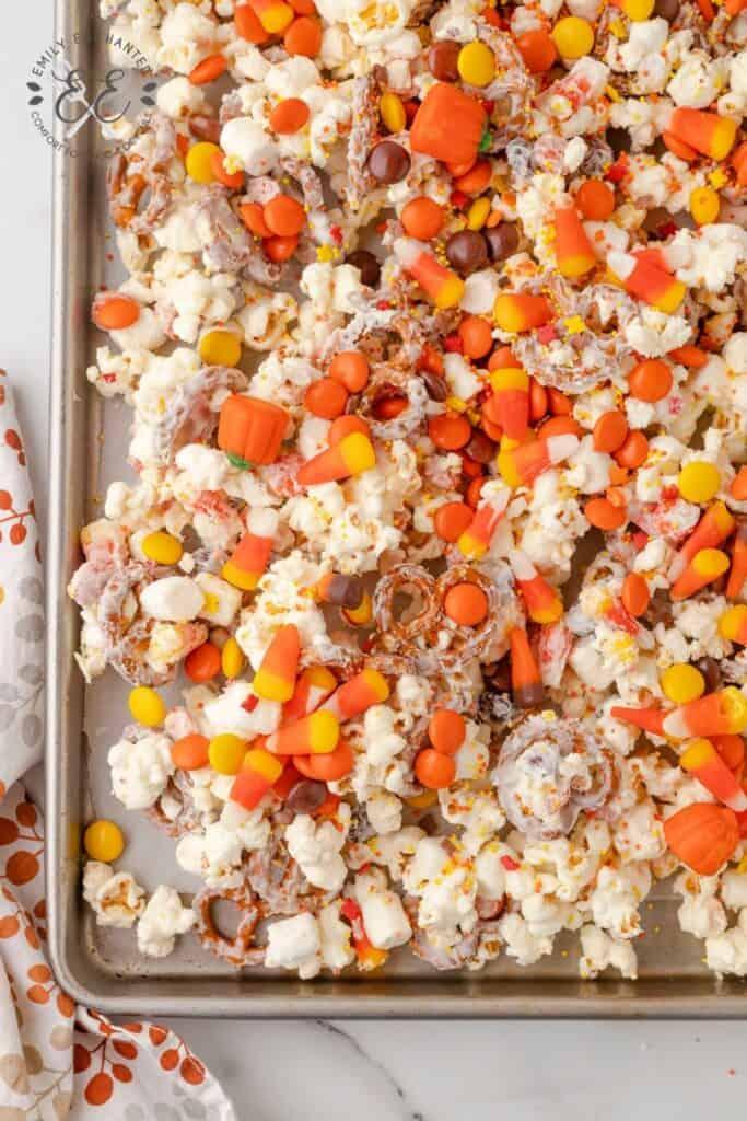 Fall Popcorn Recipe