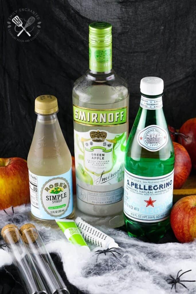 Poison Apple Vodka Shot Ingredients