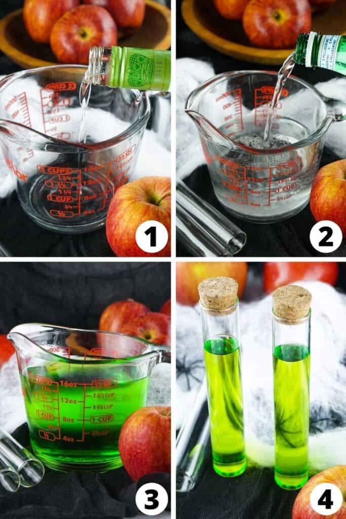 Poisoned Apple Test Tube Shots