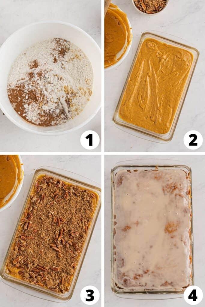 HoneyBun Cake with Pecans