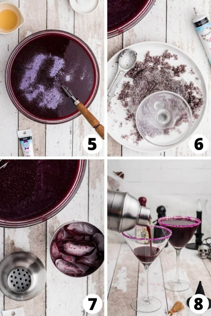 How to Make a Purple Drink for Halloween