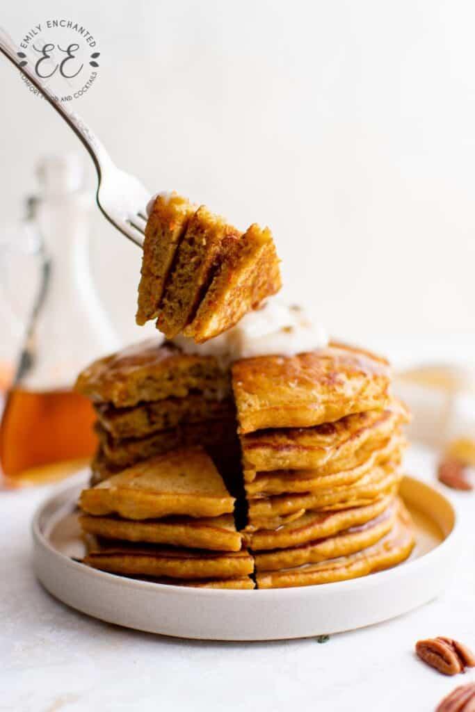 Carrot Pancake Recipe