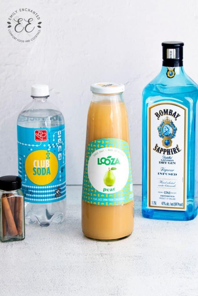 Autumn Gin Fizz Ingredients